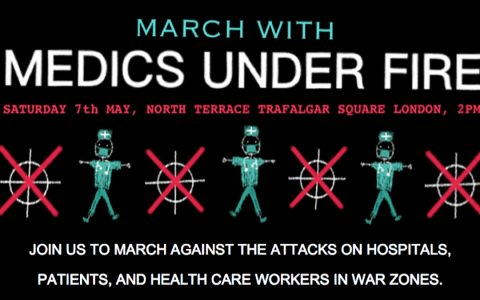 March with Medics Under Fire